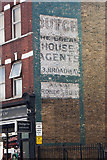 TQ2284 : Ghost sign, High Road, Willesden by Julian Osley