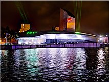 SJ8097 : Lasers on the Imperial War Museum North by David Dixon