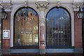 "TQ3274 : Window, ""The Half Moon"" public house, Herne Hill by Julian Osley"