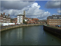 TF3243 : River Witham, Boston by JThomas