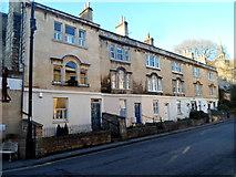 ST7565 : Row of 3-storey houses, Walcot Street, Bath by Jaggery