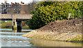J3371 : Revetment works, River Lagan, Belfast - March 2014(3) by Albert Bridge