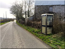 H2383 : Telephone box at Lisnacloon by Dean Molyneaux