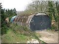 TM3189 : WW2 hut in Beech Wood by Evelyn Simak
