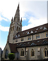 TQ3572 : Christ Church, Forest Hill: converted nave by Stephen Craven