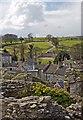 SE1287 : West of Middleham Castle by Paul Harrop