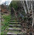 SO0000 : Long flight of steps, Godreaman by Jaggery