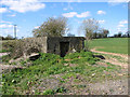TM2881 : WW2 pillbox beside Foxes Lane by Evelyn Simak