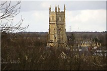 SP0202 : The Parish Church of St John the Baptist in Cirencester by Steve Daniels