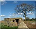 TM3181 : WW2 pillbox beside Mill Lane by Evelyn Simak