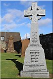 NS4643 : Covenanter Memorial at Fenwick Parish Church by Leslie Barrie