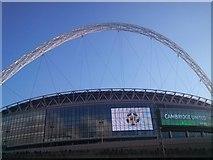 TQ1985 : Wembley Stadium by Michael Trolove