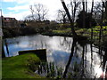 SU9298 : Pond near Little Missenden by Bikeboy
