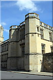 SP5105 : SW corner of Christ Church College, St Aldates by Roger Templeman