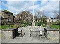 SK2168 : Bath Gardens and flagstaff by Humphrey Bolton