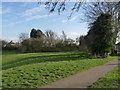 SK6040 : The southern end of the Carlton Hill Recreation Ground by Alan Murray-Rust