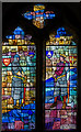 TQ7515 : Stained glass window, St Mary's church, Battle by Julian P Guffogg