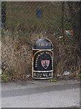 SK5447 : Boundary marker, Bulwell Hall by Alan Murray-Rust