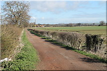SK8939 : Track to Mickling Farm by J.Hannan-Briggs