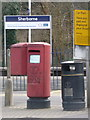 ST6416 : Sherborne: postbox № DT9 3, Station Road by Chris Downer