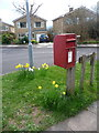 ST6417 : Sherborne: postbox № DT9 5, Castle Road by Chris Downer