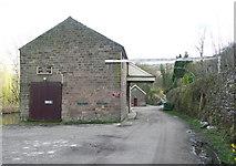 SK3155 : Trans-shipment shed, High Peak Line by Humphrey Bolton