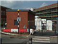 SO8754 : Worcestershire Royal Hospital - radiotherapy infrastructure by Chris Allen