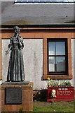 NS4927 : Jean Armour statue, Mauchline by Leslie Barrie