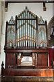 SK8736 : Organ, All saints' church, Barrowby by J.Hannan-Briggs