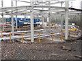 NT2467 : Building site at Lothianburn by M J Richardson