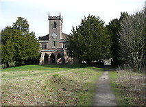 SK2957 : St Mary's Church, Cromford by Humphrey Bolton