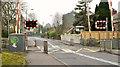 J3584 : Jordanstown level crossing, Newtownabbey by Albert Bridge