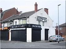 SE2534 : Menz Hair Studio - Stanningley Road by Betty Longbottom