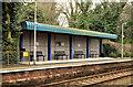 J3584 : Passenger shelter, Jordanstown station - March 2014 (1) by Albert Bridge