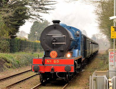 J3584 : Steam locomotive no 85, Jordanstown (March 2014) by Albert Bridge