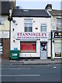 SE2234 : Stanningley Off Licence & Grocers - Bradford Road by Betty Longbottom