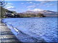 NS3693 : Loch Lomond at Luss by David Dixon