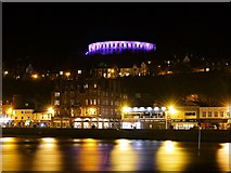 NM8529 : Oban at Night by David Dixon