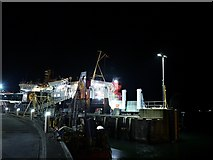 NM8529 : Oban Ferry Terminal at Night by David Dixon