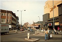 SP3379 : Hales Street, 1981 by FCG