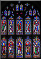 TQ8833 : East window, St Mildred's church, Tenterden by Julian P Guffogg