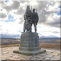 NN2082 : Spean Bridge Commando Memorial by David Dixon
