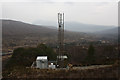 NH0158 : Mobile phone mast, Doire na Gairbhe by Dorothy Carse