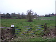 SP5074 : Field entrance off Barby Road by JThomas