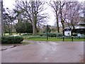 SO9099 : Devon Road Gate by Gordon Griffiths