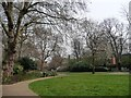 TQ3082 : St George's Gardens, looking east by Christine Johnstone