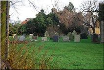 TM1551 : Graveyard, Church of St Peter by N Chadwick