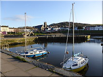 SN4562 : A spring evening in Aberaeron by Jeremy Bolwell