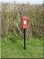 SK7918 : Wyfordby postbox ref LE14 56 by Alan Murray-Rust