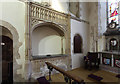 TR1041 : St Mary, Brabourne - Easter sepulchre by John Salmon